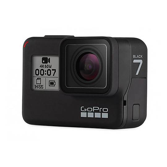 GoPro Telecamera moto gopro hero7 black 4k ultra hd + sd card