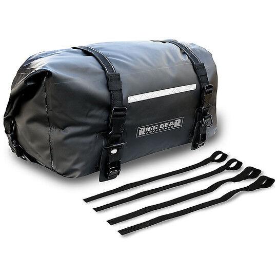 nelson-rigg borsa rullo da sella o portapacchi nelson-rigg sahara dry nero 40 lt