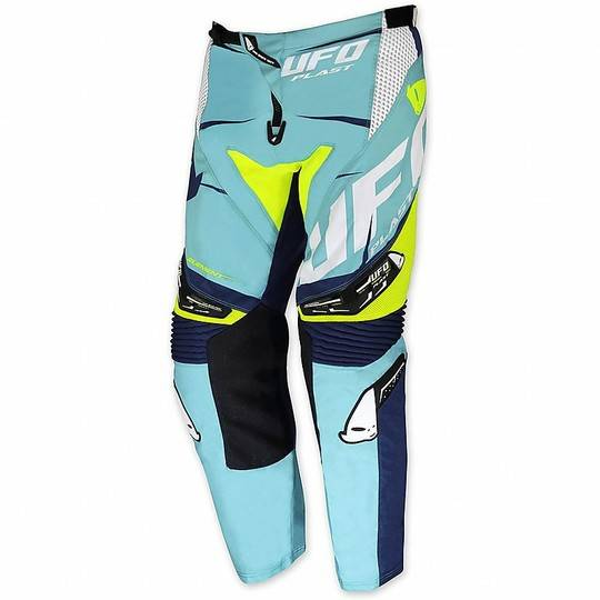 Ufo Pantalone moto cross enduro ufo 2017 element turchese