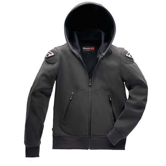 Blauer Giubbotto moto blauer sweatshirt jacket easy man 1.1 antracite