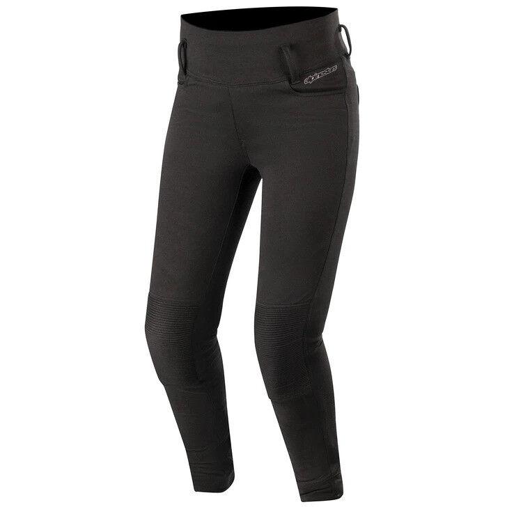 alpinestars pantaloni leggins donna alpinestars banshee allungati nero