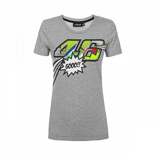 VR46 T-shirt donna vr46 classic collection pop art donna