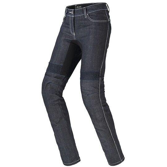 Spidi Jeans donna pantaloni moto spidi furious pro lady blu nero