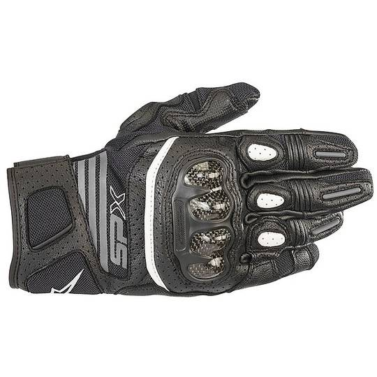 alpinestars guanti donna moto in pelle estivi alpinestars stella sp x air carbon v2 nero ant