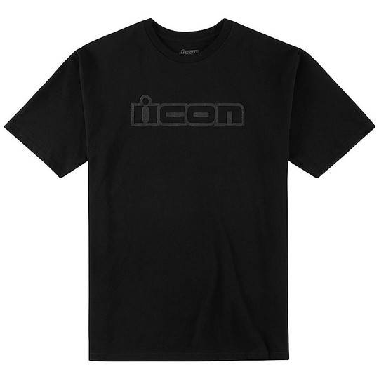 Icon T-shirt casual icon og nero