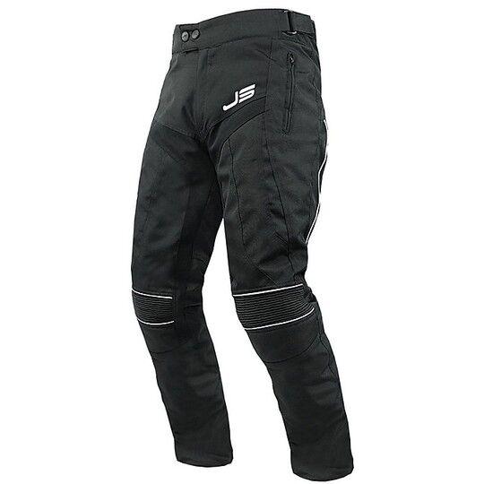 Jollisport Pantaloni moto tecnici in tessuto jollisport roots wp neri uomo