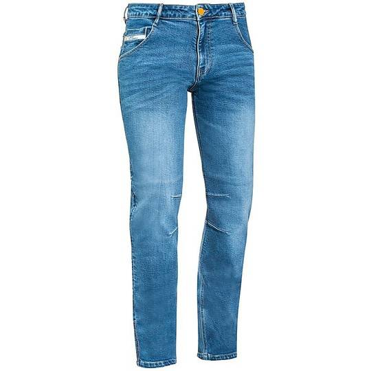 Ixon Pantaloni jeans moto certificati ixon mike stonewash