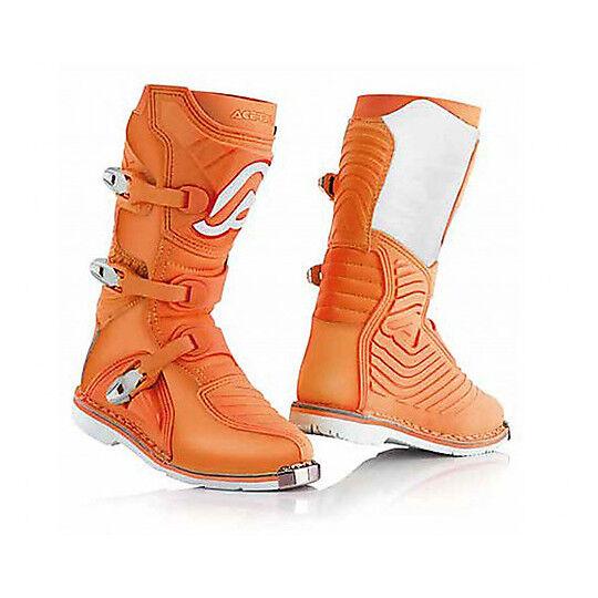 Acerbis Stivali da bambino moto cross enduro acerbis x-kid arancio
