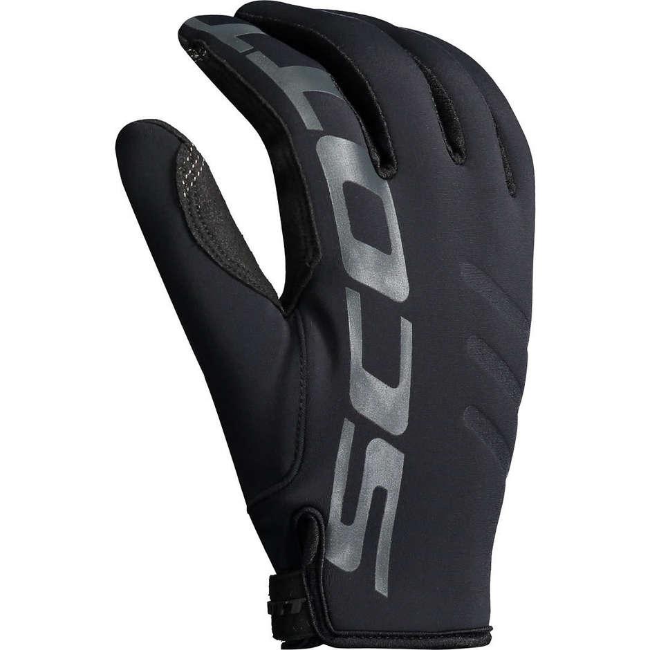 Scott Guanti moto cross enduro scott neoprene invernali nero