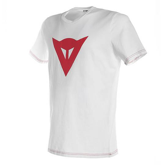Dainese T-shirt casual dainese speed demon bianco rosso