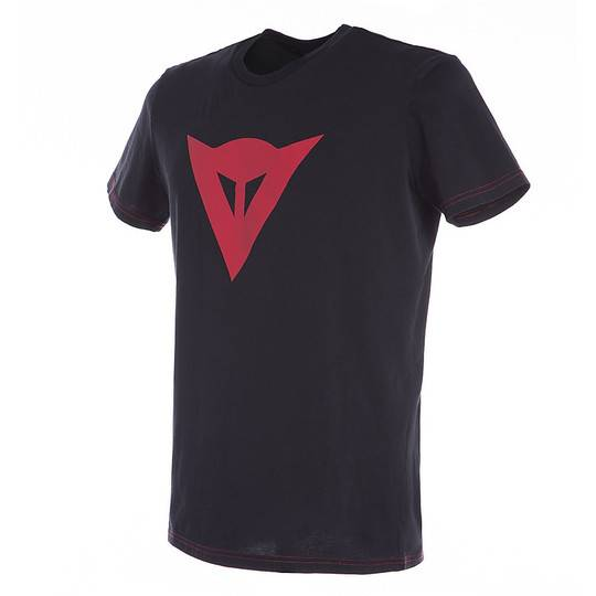 Dainese Maglia da donna casual dainese t-shirt speed demon lady nero rosso