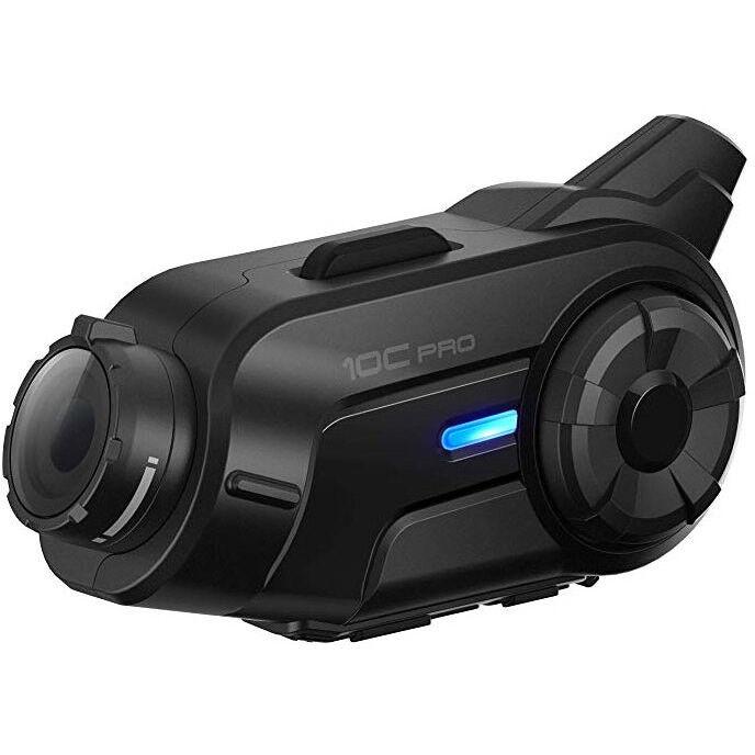 Interfono bluetooth moto sena 10c pro con telecamera integrata