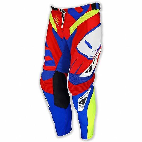 Ufo Pantalone moto cross enduro ufo 2017 made in italy 40° anniversary rosso