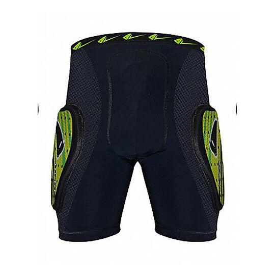 Ufo Pantaloncini protettivi ufo con protezioni kombat padded short verde