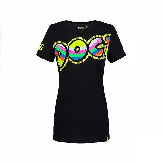 VR46 T-shirt donna in cotone vr46 the doctor