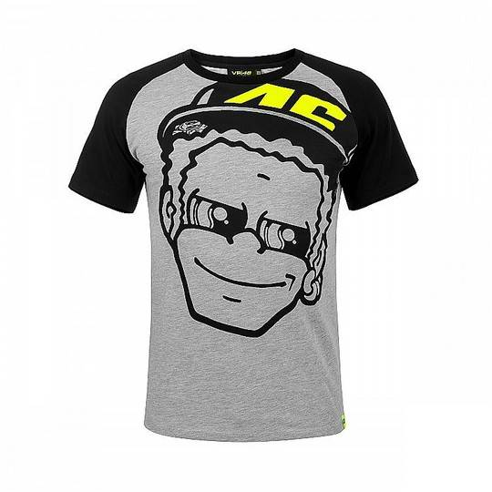 VR46 T-shirt in cotone vr46 dottorino