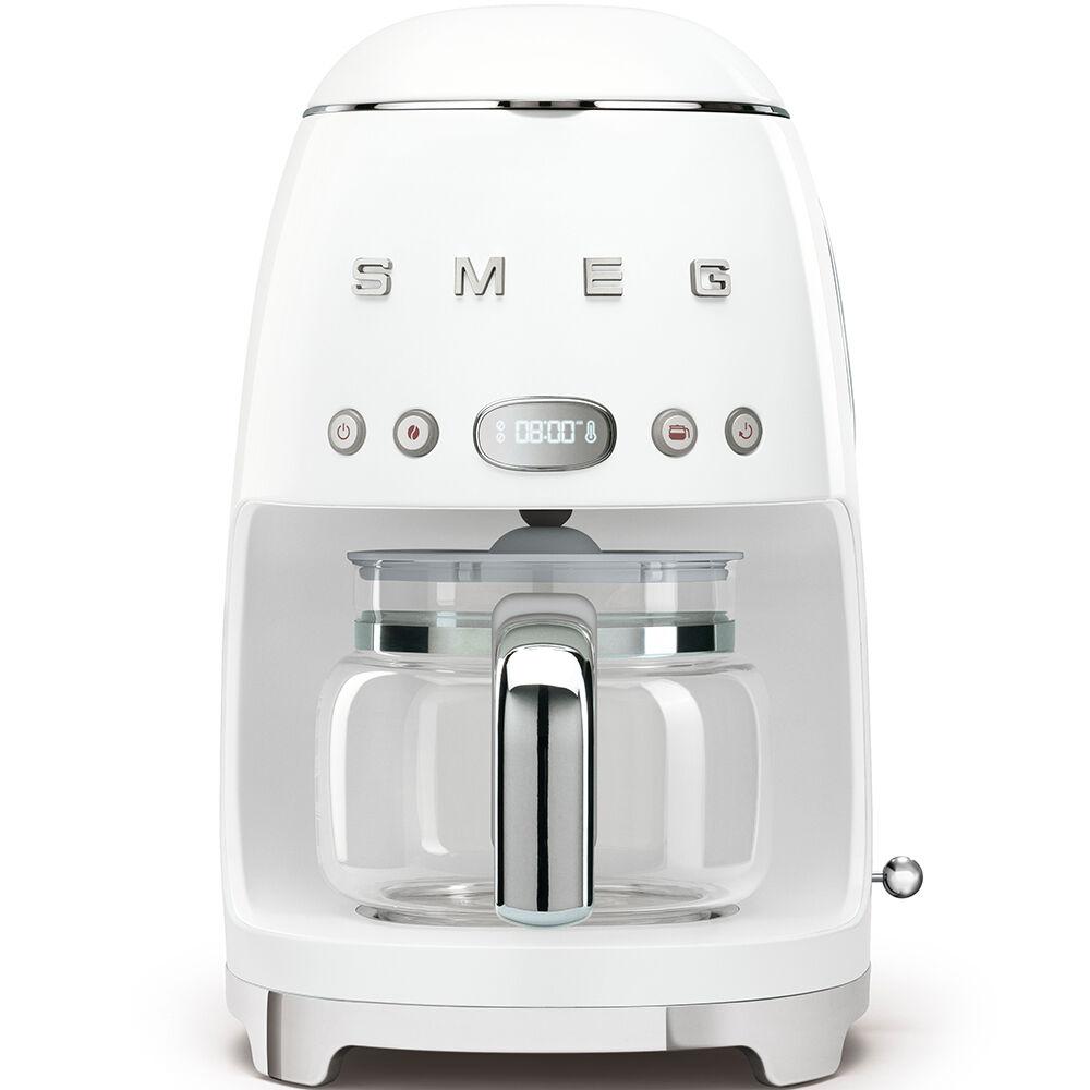smeg macchina da caffè filtro bianco estetica anni '50