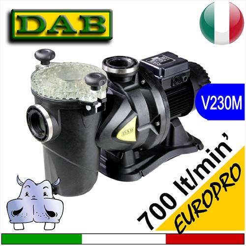 Dab Elettropompa pompa per piscina EUROPRO 230Vac monofase