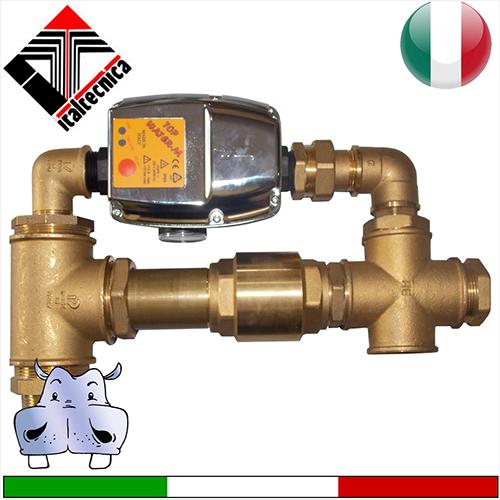 Italtecnica Regolatore di pressione Presscontrol TopWater - pressione di ripartenza pompa regolabile da 1Bar a 3Bar - applicabile a pompe max 2Hp - portata aumentata