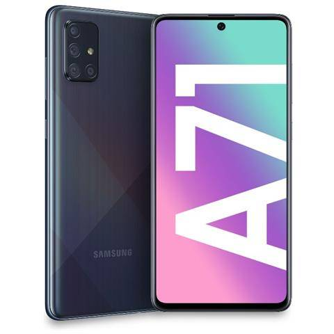 Samsung Galaxy A71 Prism Crush Black 128 GB Dual sim Italia