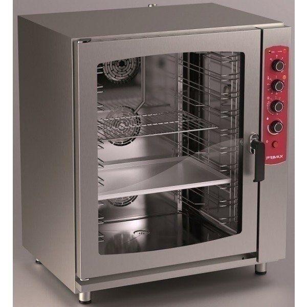 Forno misto a convezione-vapore elettrico Primax Linea Easy line per gastronomia e pasticceria 10 teglie GN1/1(400X600) Dim. L920 x P760 x H1075 mm Modello EDE-910-HS