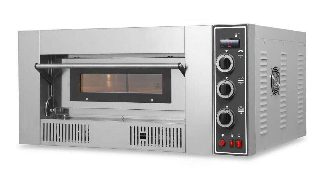 Forno a Gas per pizza RI 1 camera di cottura Temperatura 450 °C Dim. L1000 x P1060 x H560 Modello OVEN GAS4