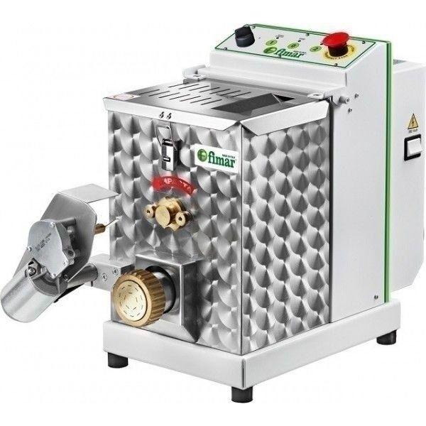 MACCHINA PER LA PASTA FRESCA PROFESSIONALE FIMAR Produzione oraria Kg/h 13 modello MPF4N Capacità vasca 4 kg