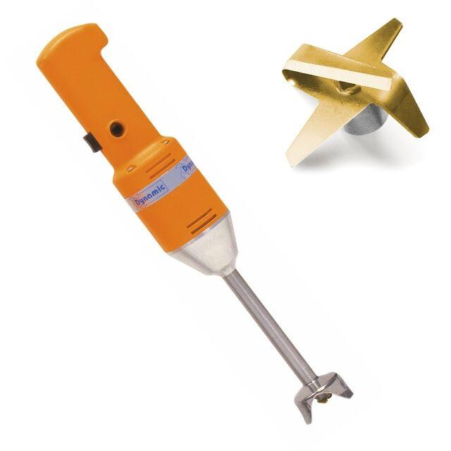 minimixer frullatore ad immersione dynamic monoblocco capacità da 1 a 12 litri fino a 20 coperti copleto di coltello emulsionatore e variatore di velocità modello md95evv