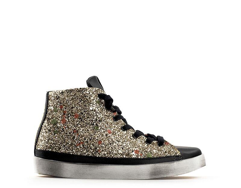 2 Star Sneakers Trendy bambini glitter oro