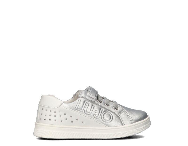 Liujo Sneakers Trendy bambini argento/bianco