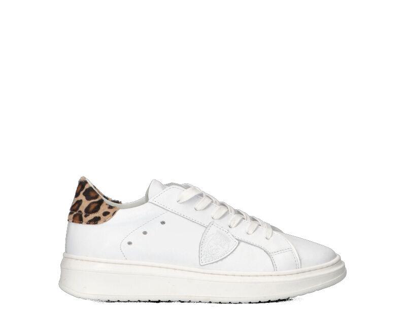 Philippe Model Sneakers Trendy bambini bianco/leopardato