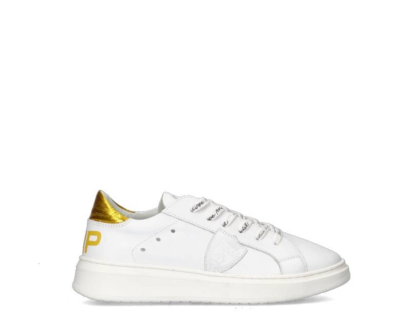 Philippe Model Sneakers Trendy bambini bianco/giallo