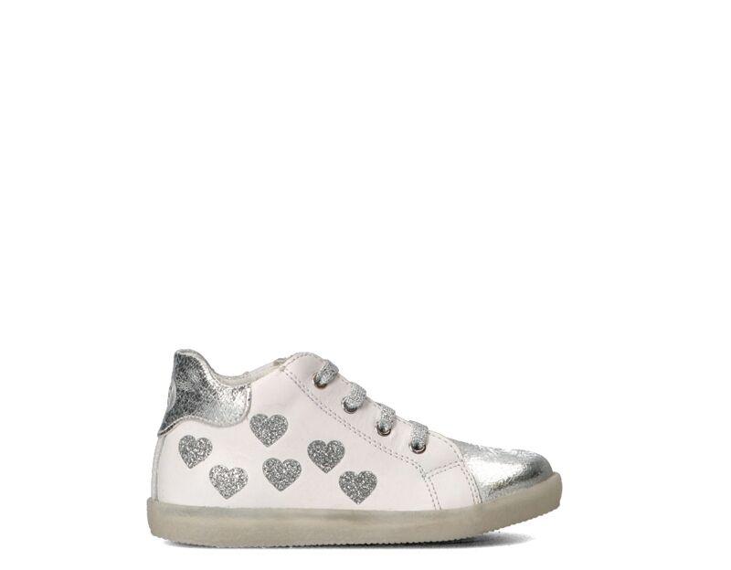 Falcotto Sneakers Trendy bambini argento/bianco