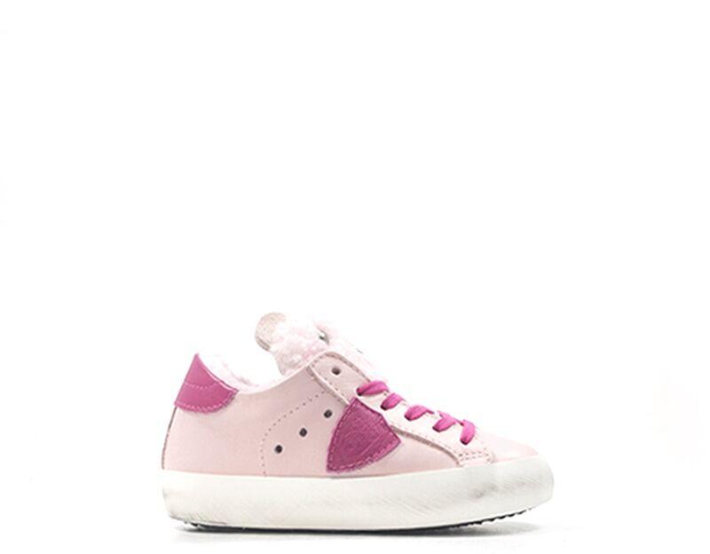 Philippe Model Sneakers Trendy bambini rosa