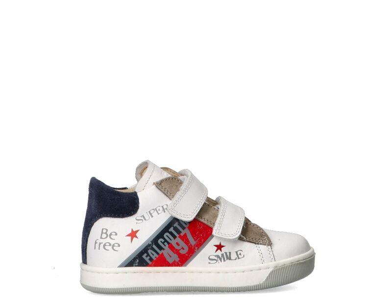 Falcotto Sneakers Trendy bambini bianco/piombo
