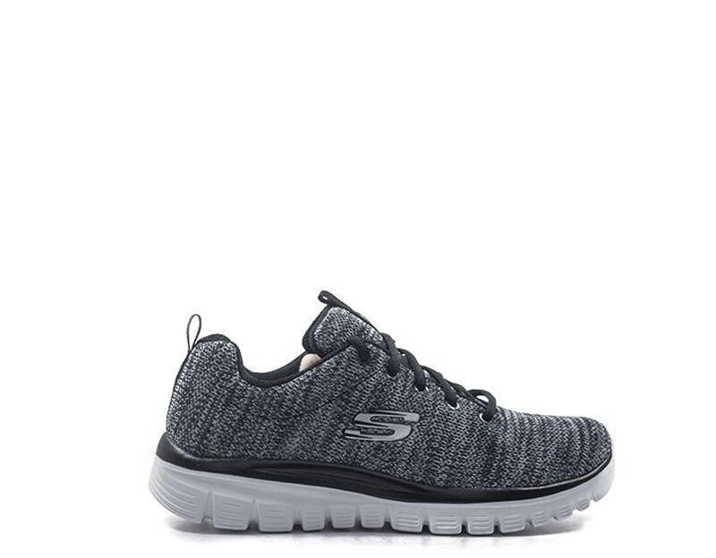 Skechers Sneakers donna donna nero