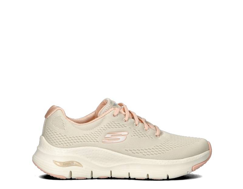 Skechers Sneakers donna donna bianco/oro