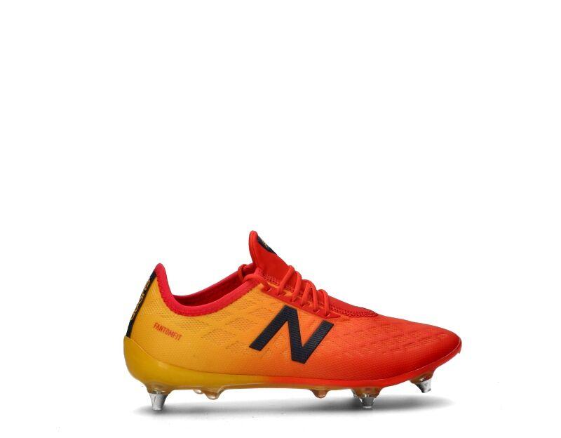 new balance calcio uomo uomo arancione
