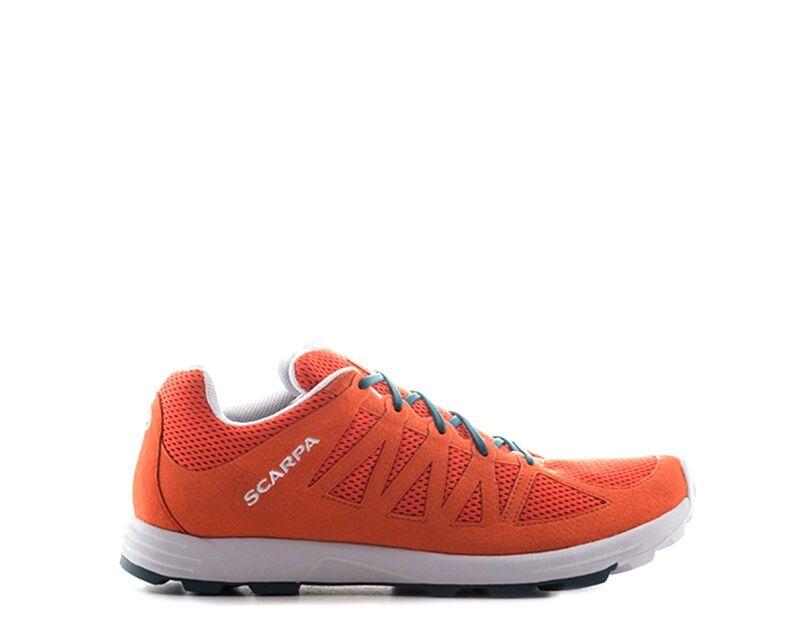 scarpa trekking uomo arancione
