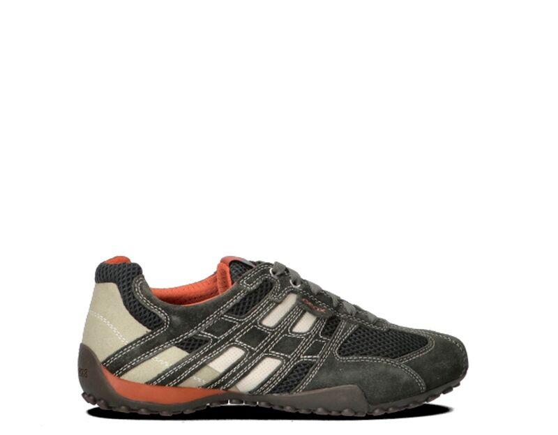 geox scarpe uomo grigio/bianco