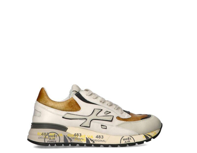 Premiata Sneakers trendy uomo beige/marrone