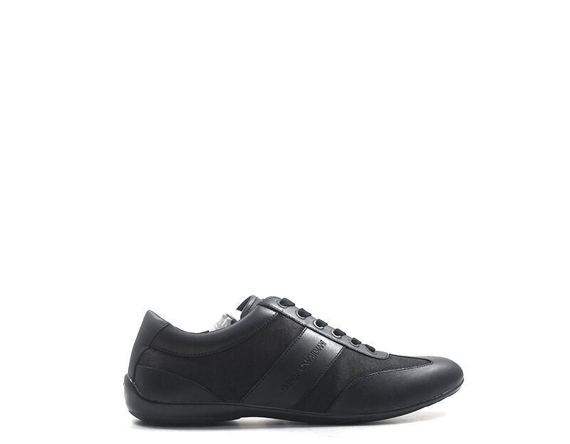 Emporio Armani Sneakers trendy uomo nero