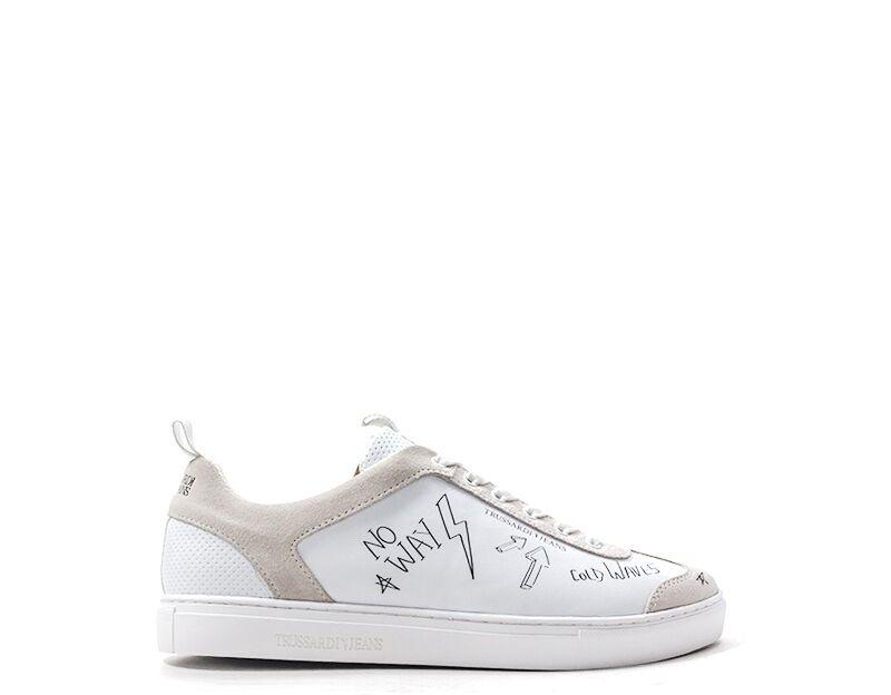 Trussardi Sneakers trendy uomo bianco
