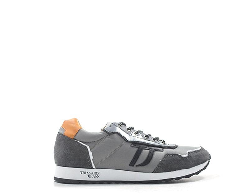 Trussardi Sneakers trendy uomo grigio