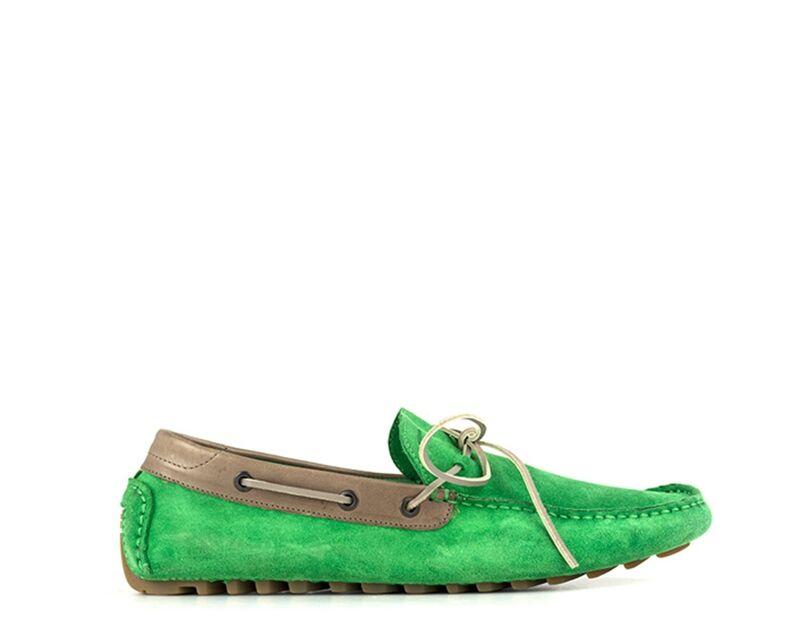 Pirelli Scarpa Barca uomo verde/taupe