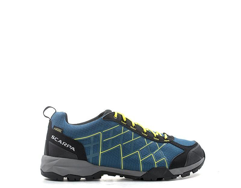 scarpa trekking  blu