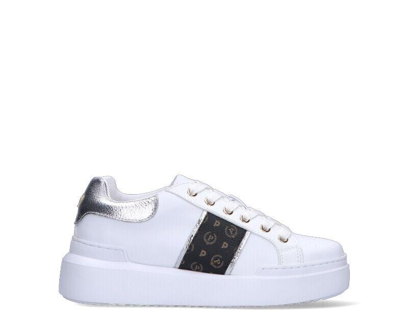 Pollini Sneakers Trendy donna bianco/nero