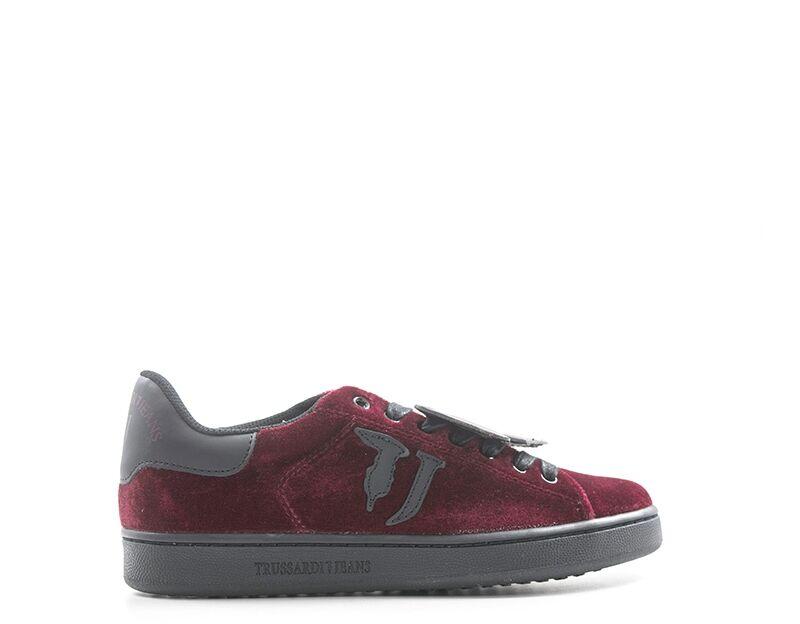 Trussardi Sneakers Trendy donna nero/rosso