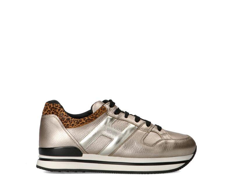 Hogan Sneakers Trendy donna argento/maculato