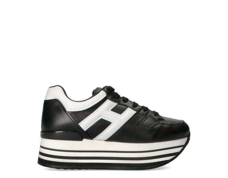 Hogan Sneakers Trendy donna nero/bianco